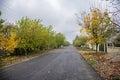 Village road Stock Image