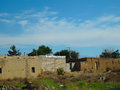 Village on the road in iran a Royalty Free Stock Photo