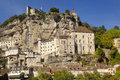 Village of Rocamadour in Midi-Pyrenees, France Royalty Free Stock Photo