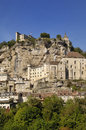 Village of Rocamadour,  Midi-Pyrenees, France Royalty Free Stock Photo