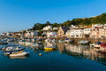 Village of Saint Aubin Jersey Royalty Free Stock Photo