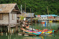 Village on sea near Phuket Royalty Free Stock Photography
