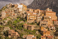 Village of speloncato in the balagne region of corsica mountain northern Stock Image