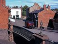 Village Street, Black Country Museum, UK. Royalty Free Stock Photography