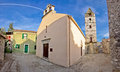 Village of sveti filip i jakov old square dalmatia croatia Royalty Free Stock Photo
