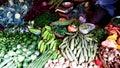 stock image of  Village vegetables in a market shop