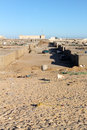 Village in western mauritania nouadhibou is the second largest city Royalty Free Stock Photos