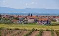 Villaggio greco Immagine Stock Libera da Diritti
