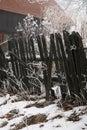 Villaggio nel â Pasterka della Polonia Fotografia Stock Libera da Diritti