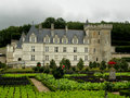 Villandry Castle Royalty Free Stock Photography