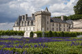 Villandry castle Stock Images