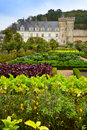 Villandry castle, France Royalty Free Stock Photo