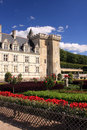 Villandry Chateau and garden Royalty Free Stock Images