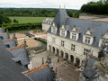 Villandry roof Royalty Free Stock Images