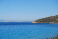 Villasimius sardinia view of beautiful sea of in italy Stock Photography