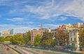 Ville de boston ma etats unis d amérique image de hdr Image libre de droits