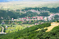 Ville de Jermuk Photo stock