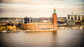 Ville h tel de stockholm Photo stock