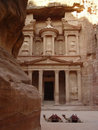 Ville PETRA-Antique, Jordanie Images stock