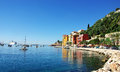 Villefranche sur mer le france Royalty Free Stock Images