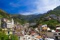 Villiage of Riomaggiore, Cinque Terre in Italy Royalty Free Stock Photography