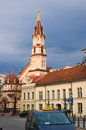 Vilnius city view capital of lithuania european union Stock Photography