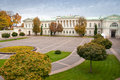 Vilnius lithuania view of the presidential palace Royalty Free Stock Photography