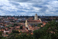 Vilnius old town lithuania Royalty Free Stock Images