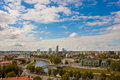 Vilnius a view of lithuania Stock Photography