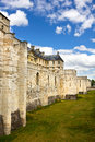 Vincennes Castle defensive wall Stock Images