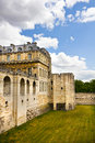 Vincennes Castle wall Stock Photos