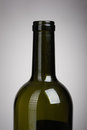 Vine bottle on dark background Royalty Free Stock Image