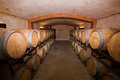 Vineyard cellar Royalty Free Stock Photos