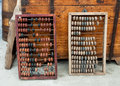 Vintage abacus for sale in a flea market Royalty Free Stock Photos