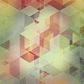 Vintage abstract design background triangular with a effect added Royalty Free Stock Images