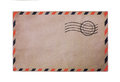 Vintage airmail envelope Royalty Free Stock Photo