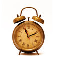 Vintage Alarm Clock Royalty Free Stock Photos