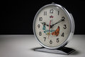Vintage alarm clock Royalty Free Stock Images