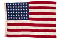 Vintage American flag Stock Photo