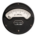 Vintage ampere meter Royalty Free Stock Photo