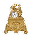 Vintage antique clock Stock Image