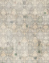 Vintage antique damask scrapbook paper Royalty Free Stock Image