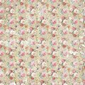 Vintage antique shabby flower paper background, seamless repeat pattern texture Royalty Free Stock Photo