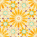 Vintage arabic style seamless pattern Stock Photos