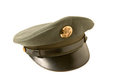 Vintage army cap Royalty Free Stock Photos