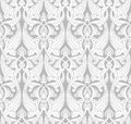Vintage art nouveau background detailed seamlessly tilable repeating motif pattern Royalty Free Stock Photo