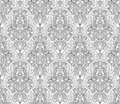 Vintage art nouveau pattern illustration of an intricate seamlessly tilable repeating motif Stock Photography