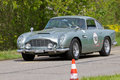 Vintage Aston Martin DB4 Vantage from 1962 Stock Photography