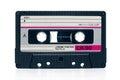 Vintage audio tape cassete Royalty Free Stock Photo