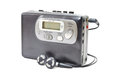 Vintage audiotape walkman Royalty Free Stock Photos